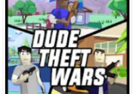Download Dude Theft Wars mod apk Unlimited Money for Android