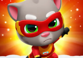 Download Talking Tom Hero Dash mod apk for Android