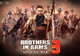 Download Brothers in Arms 3 mod apk for Android