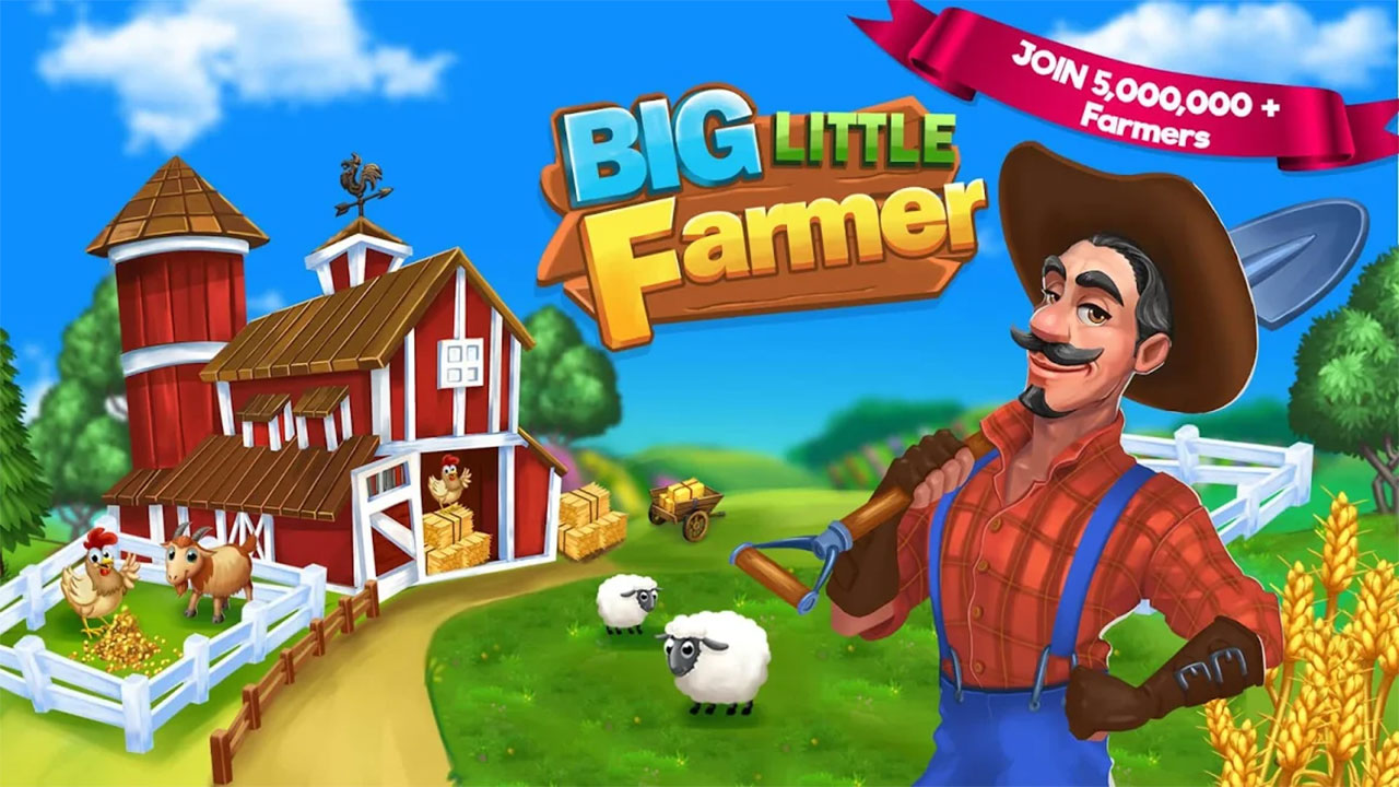 Big Little Farmer mod apk 1.8.3(Unlimited Money and Gems) Download for Android