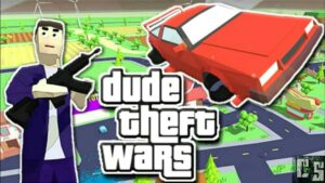 Read more about the article Dude Theft Wars mod apk 0.9.0.3(Unlimited Money) Download for Android