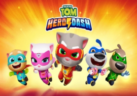 Talking Tom Hero Dash mod apk 2.5.0.894 (Unlimited Money) Download for Android