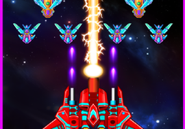 Space Shooter Galaxy Attack mod apk 33.7 (Unlimited Money, All Unlocked) Download for Android